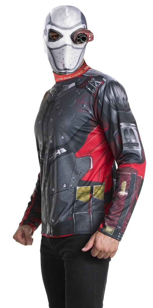 Maskeradkläder Vuxna - Deadshot Maskeraddräkt Kit