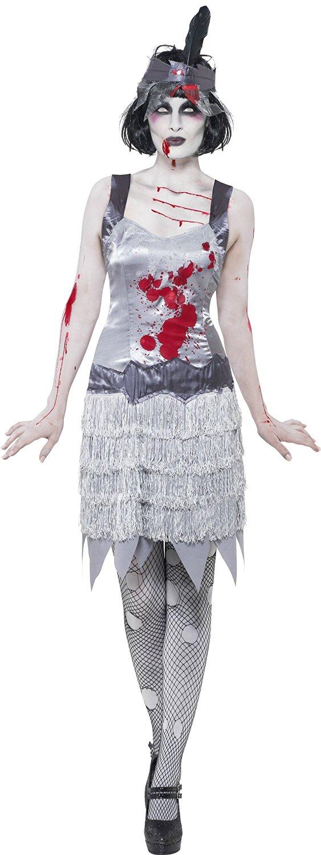 Zombiedräkt Flapperklänning
