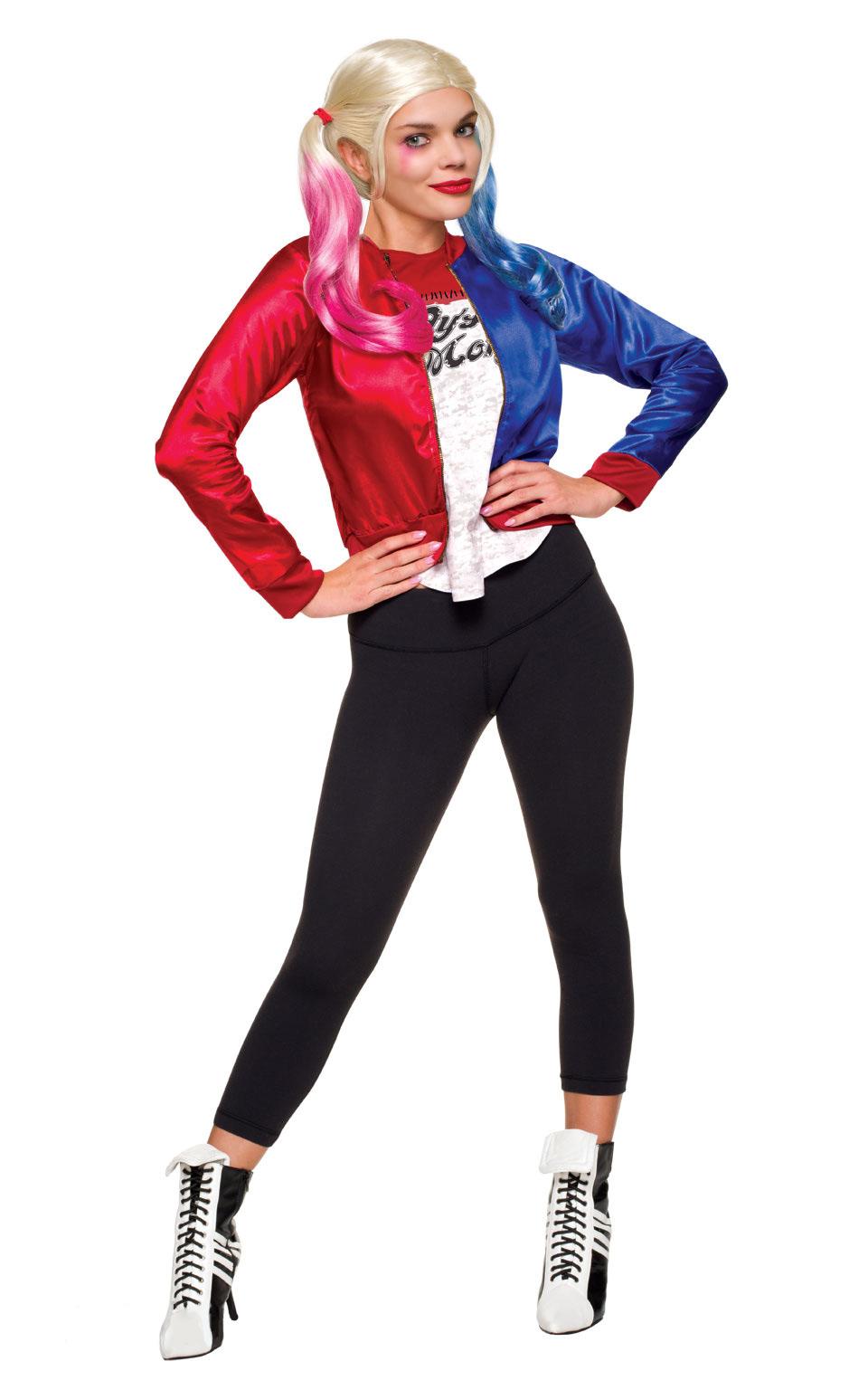 Maskeradkläder Vuxna - Harley Quinn Maskeraddräkt Vuxen