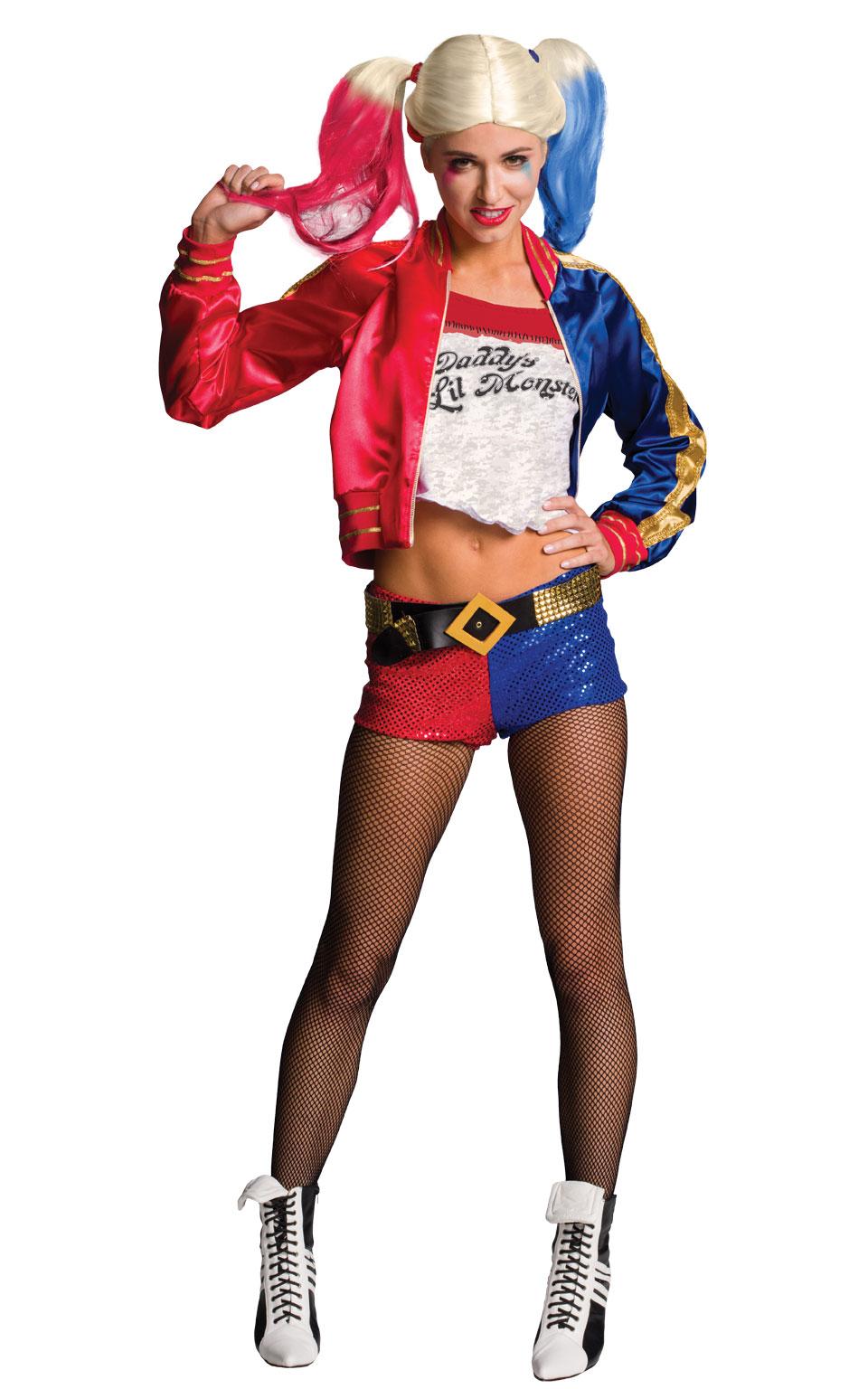 Maskeradkläder Vuxna - Harley Quinn Maskeraddräkt Deluxe