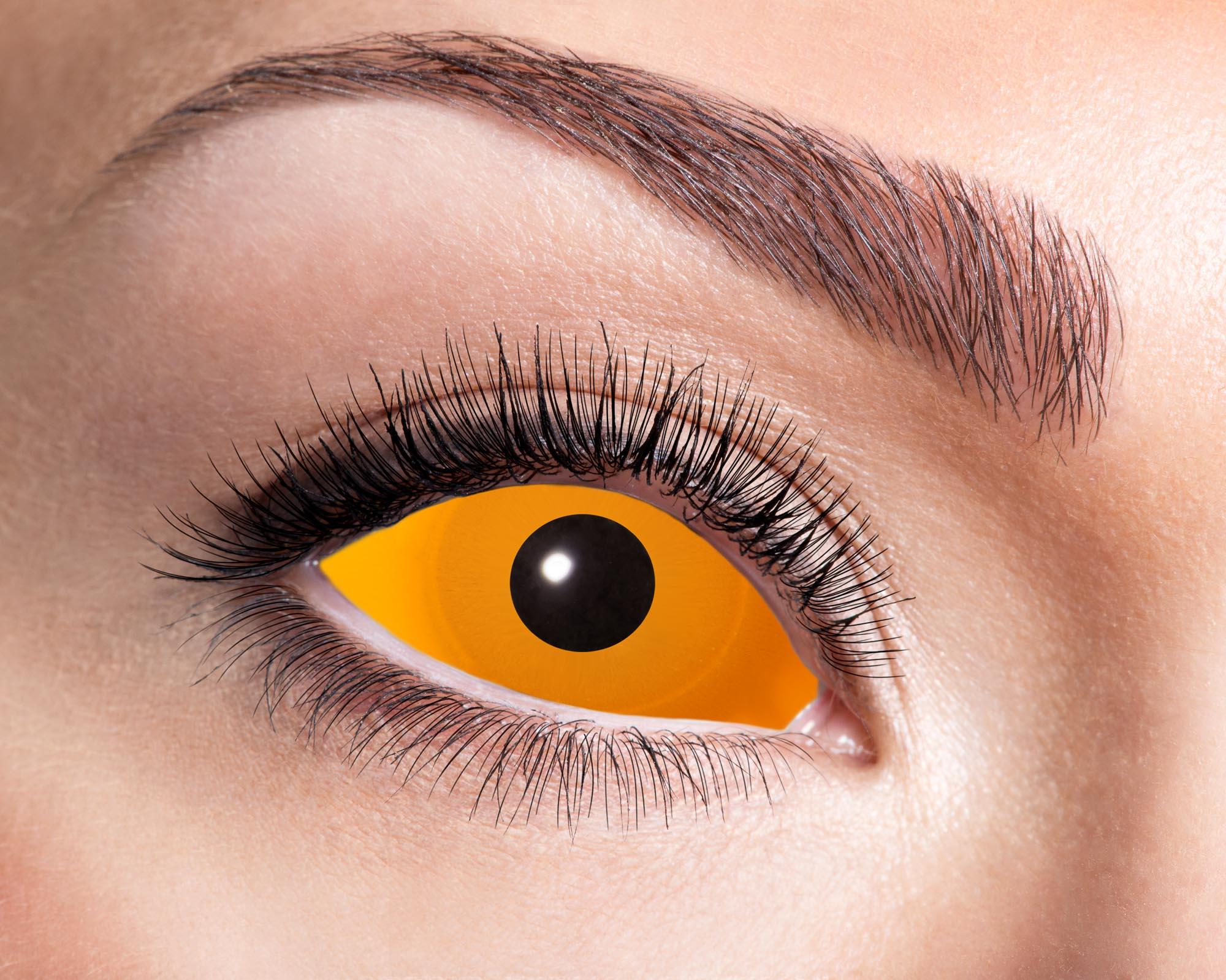Scleralinser Orange Eyes
