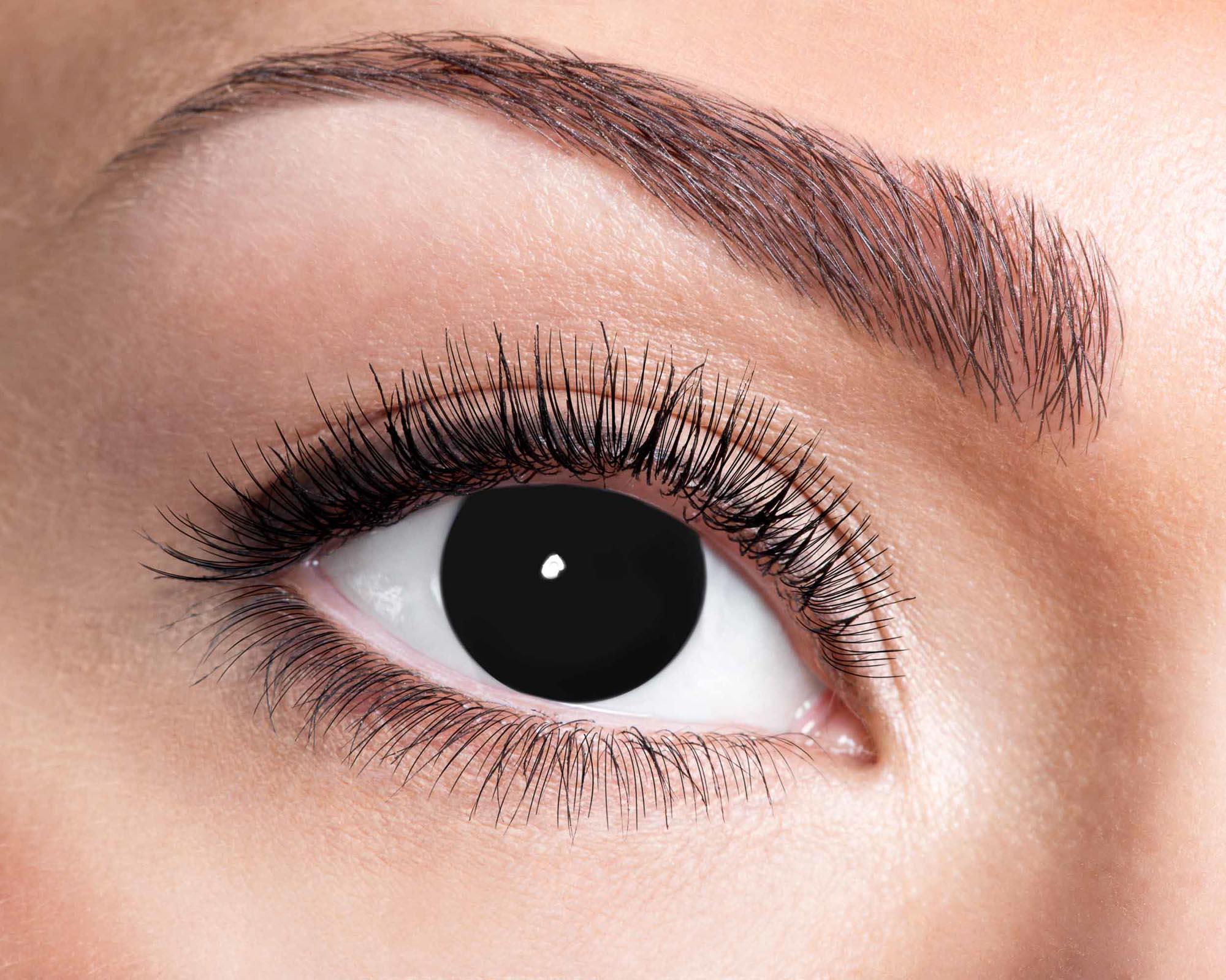 Färgade linser Blind Black