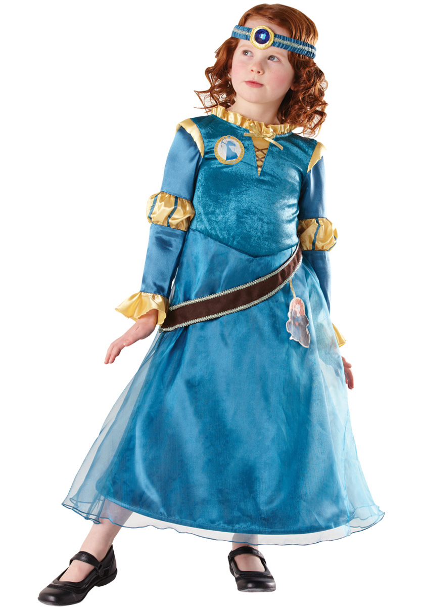 Disney Merida Maskeraddräkt Barn