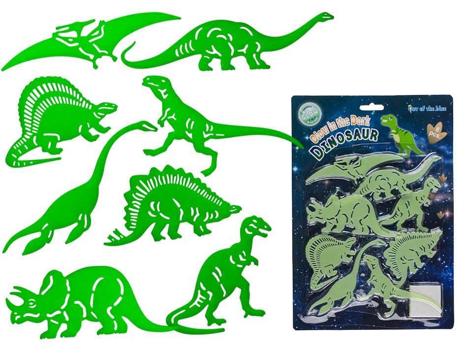 Dinosaurie - Självlysande Dinosaurier