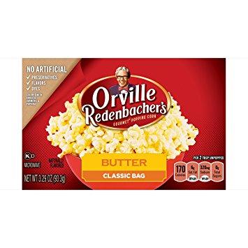 Orville Butter Popcorn 3-pack 280 g
