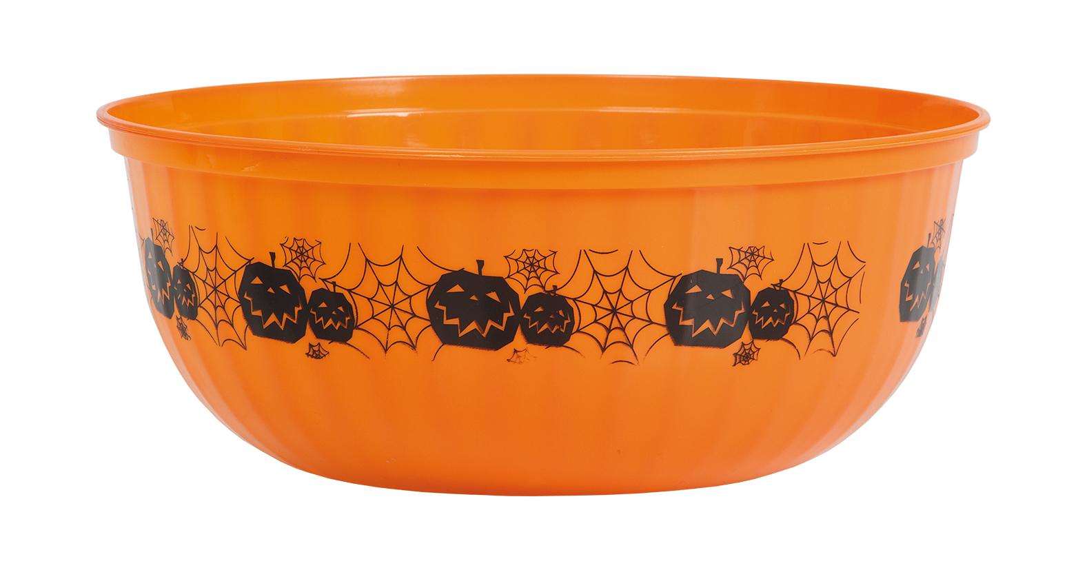 Godisskål Orange Halloween