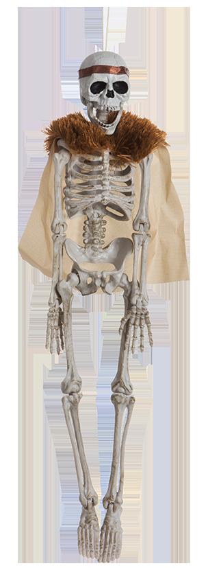 Dekoration Skelett Krigardrottning