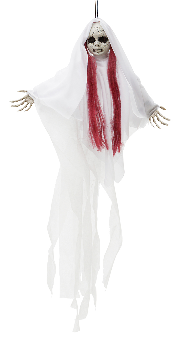 Rödhårig Spökflicka Dekoration