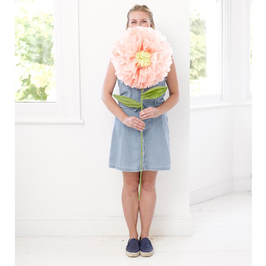 Gigantisk Blomma Dekoration