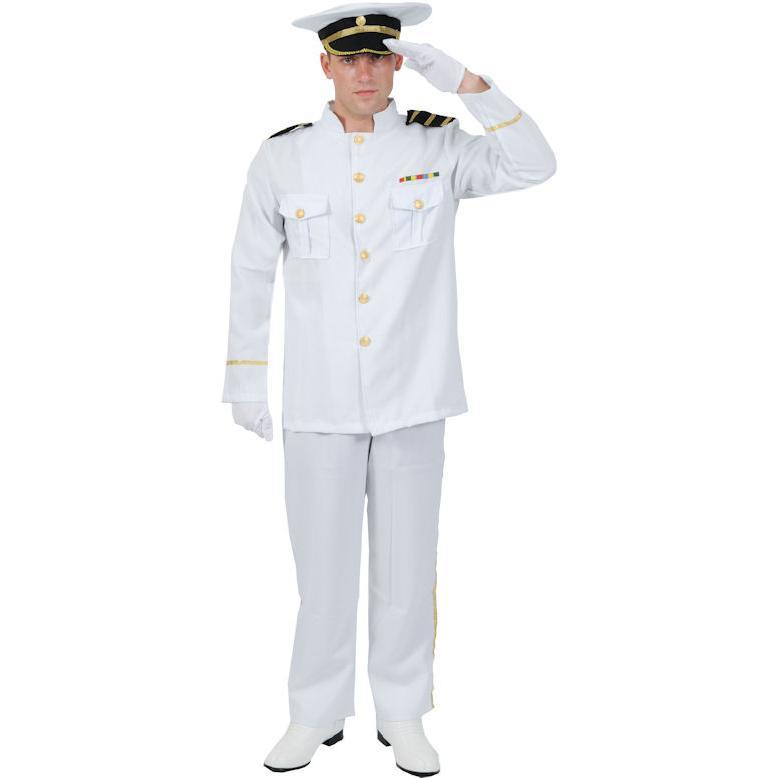 Marin Officerare Maskeraddräkt