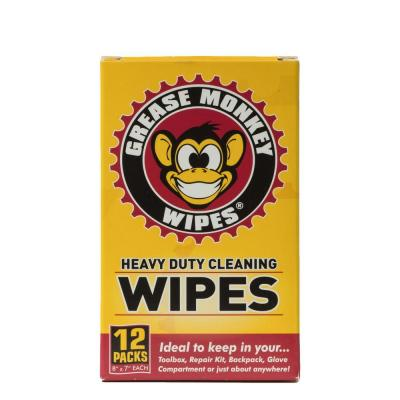 Grease Monkey Wipes 12-pack