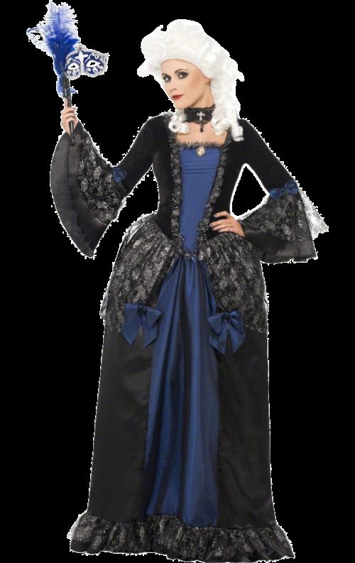 Maskeradklänning i barockstil