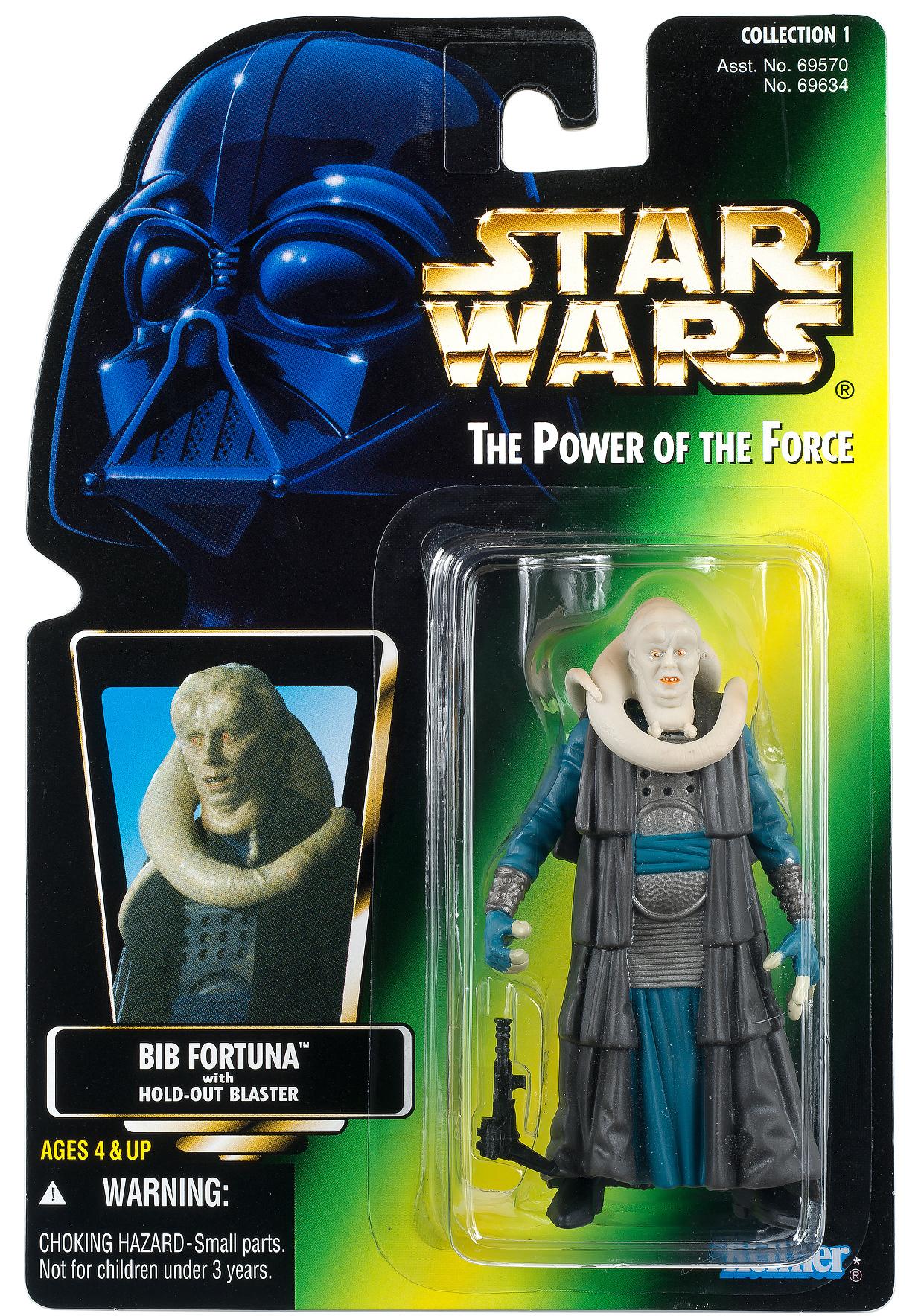 Bib fortuna - Vintage Star Wars thumbnail