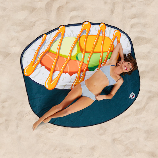 Strandhandduk Gigantisk Sushi
