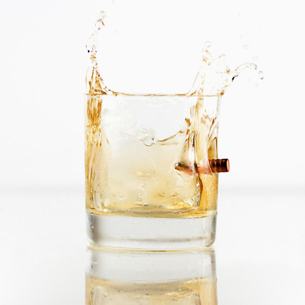 Skottsäkert Whiskeyglas