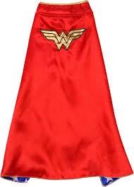 Cape Wonder Woman Maskeraddräkt Barn