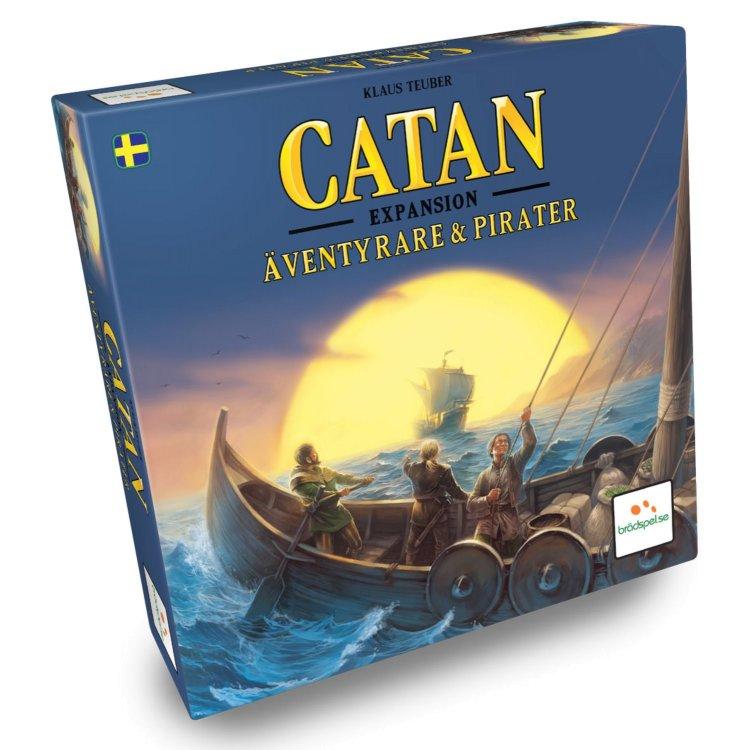 Catan: Äventyrare och Pirater, Expansion