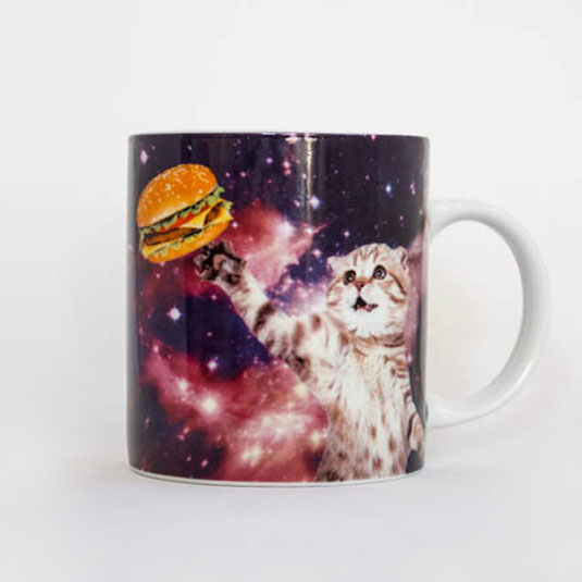Cat In Space Mugg