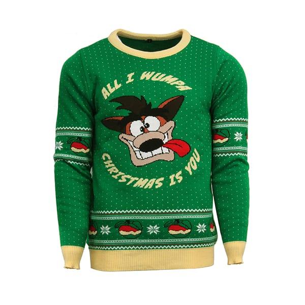 Jultröja Crash Bandicoot