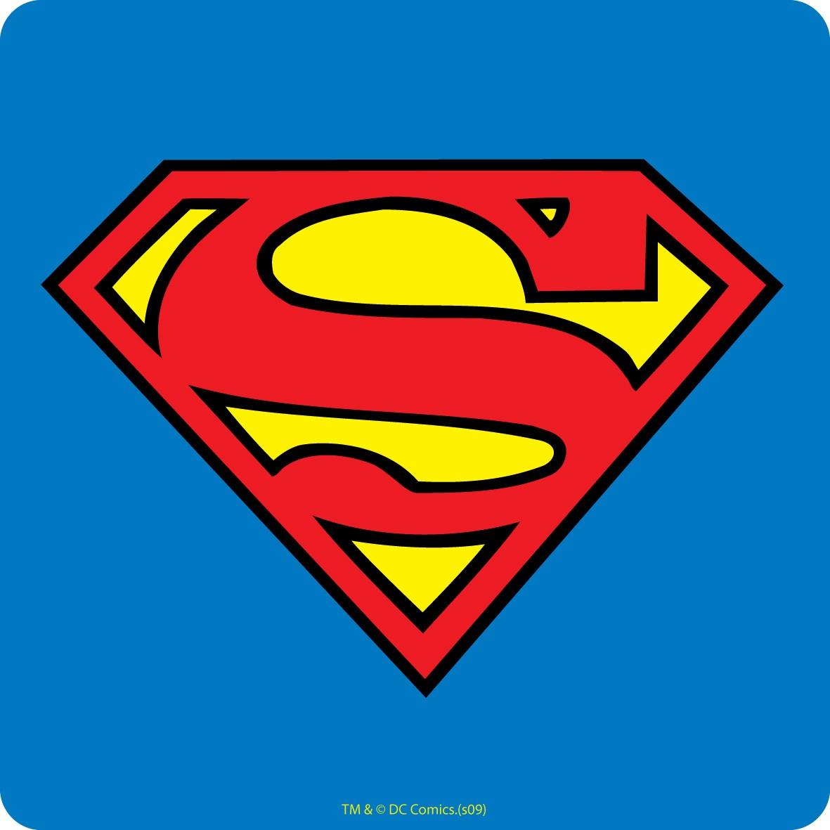 Superman Logo Drinkunderlägg thumbnail
