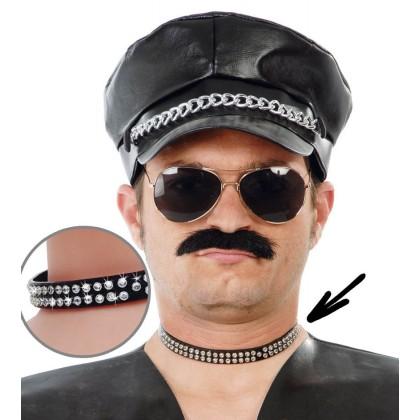 Punkhalsband Diamant