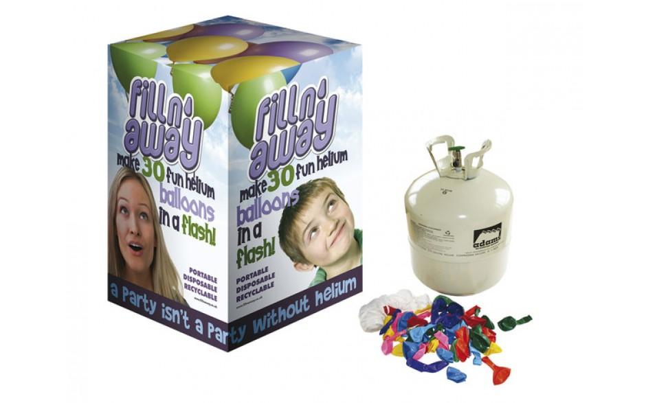 Heliumkit 30 Ballonger