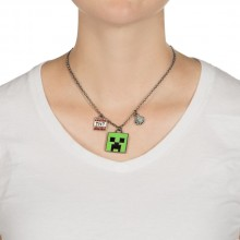 Minecraft Enchanted Creeper Halsband