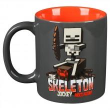 Minecraft Skeleton Jockey Mugg