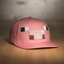Minecraft Gris Snap Back Keps