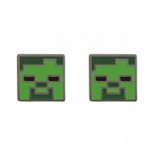Minecraft Zombie Örhängen