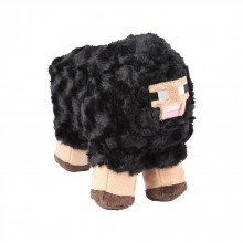 Minecraft Black Sheep Mjukisdjur