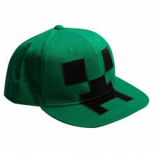 Minecraft Creeper Snapback