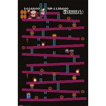 DONKEY KONG (NES) AFFISCH