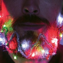 Skäggdekoration Julbelysning & Glitter