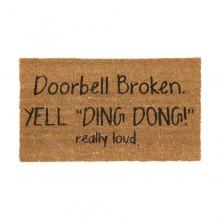 Dörrmatta Doorbell Broken