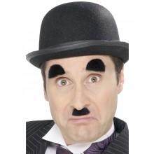 Mustasch och Ögonbryn Chaplin
