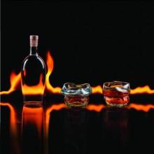 Ugnssmälta Whiskeyglas 2-pack