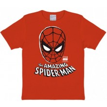 Marvel Den Fantastiska Spindelmannen Mask T-Shirt Barn
