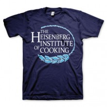 Breaking Bad Heisenberg Institute Of Cooking T-Shirt Marinblå