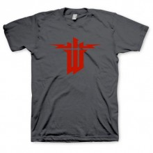 Wolfenstein: The New Order T-Shirt Logo Grå