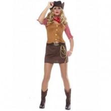 Sexig Cowgirl Maskeraddräkt