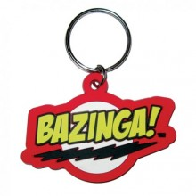 Big Bang Theory Bazinga Nyckelring