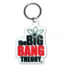 Big Bang Theory Logo Nyckelring