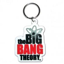 Big Bang Theory Logo Nyckelring
