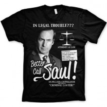Breaking Bad Better Call Saul T-Shirt Svart