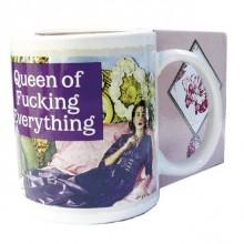 Mugg Queen of Fucking Everything Julkalender