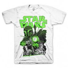 Vintage Boba Fett T-Shirt Vit