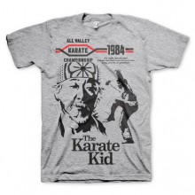 The Karate Kid T-Shirt Grå
