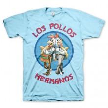Los Pollos Hermanos T-Shirt Ljusblå