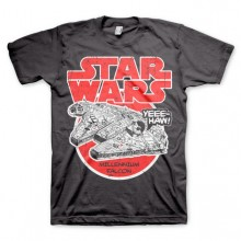 Star Wars Millennium Falcon T-Shirt Mörk Grå